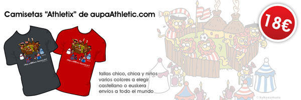 "Camisetas ""Athletix"" de aupaAthletic.com"