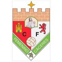 Escudo del Club de Fútbol Femenino Cáceres