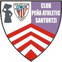Escudo del Peña Athletic Santurtzi Club de Fútbol