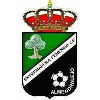 Escudo del Extremadura Femenino Club de Fútbol