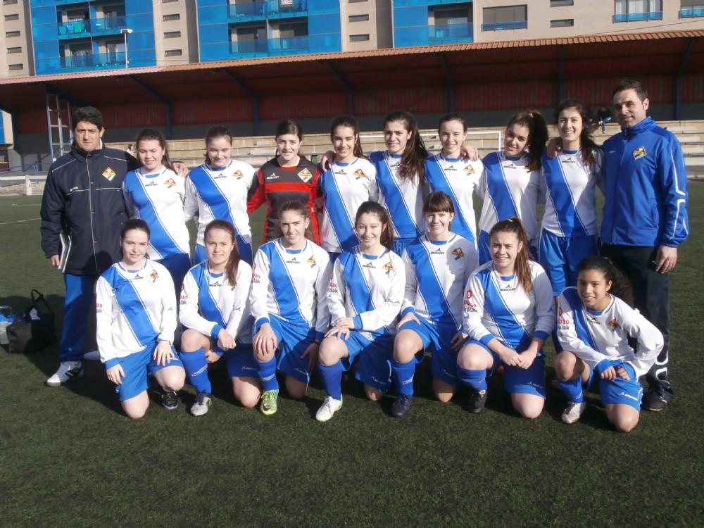 Foto de la plantilla del Cadete-Juvenil de la Unión Deportiva La Merced