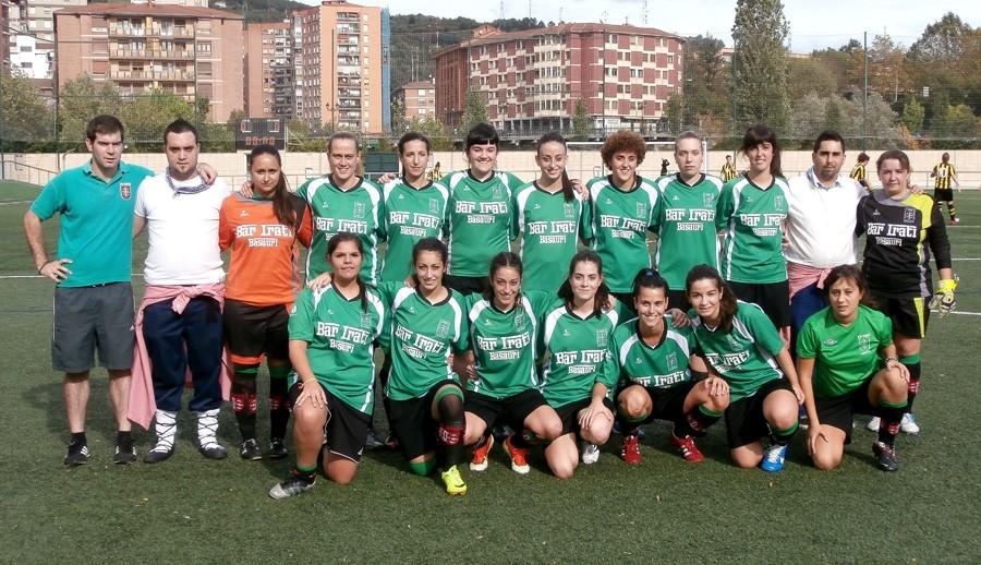 Foto de la plantilla del Sociedad Deportiva Ariz