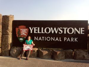 En YELLOWSTONE PARK (Wyoming, Montana e Idaho)